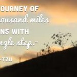 A Journey of a thousand miles…