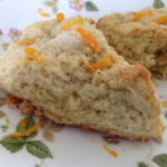 Vegan Orange Scones