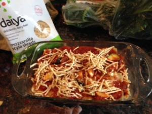 Vegan Vegatable Lasagne