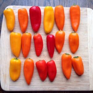 18 mini peppers
