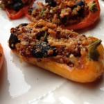 Quinoa Mini Pepper Appetizers