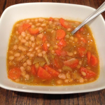 Vegan Navy Bean Soup