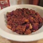 Easy Three Bean Vegan Chili